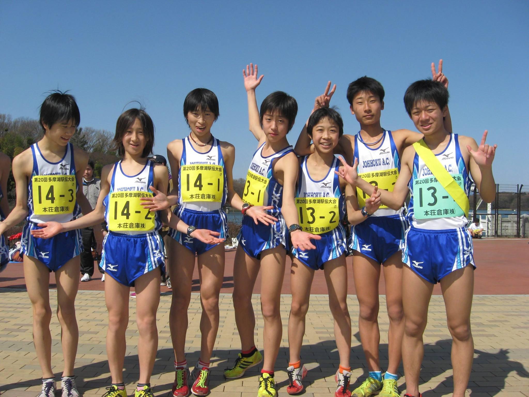 東京都の陸上東京城北陸上競技クラブで礼儀を学ぶ